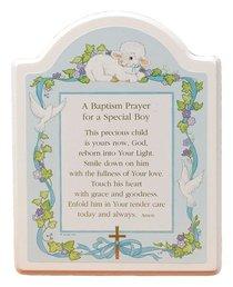 Baptism Plaque For a Special Boy