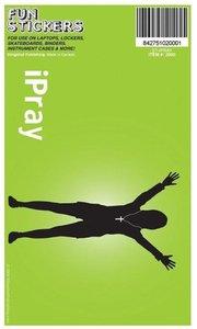 Sticker: I Pray Green