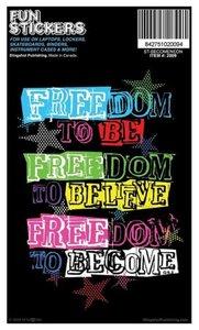 Sticker: Freedom