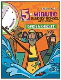 Five Minute Sunday School Activities: God is Great (Reproducible)