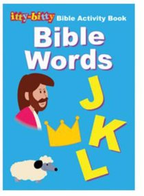 Activity Book Bible Words (Itty Bitty Bible Series)