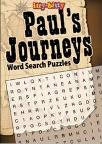 Activity Book Paul Journeys Wordsearch (Itty Bitty Bible Series)