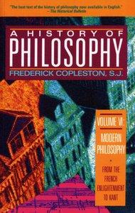 History of Philosophy (Vol 6)