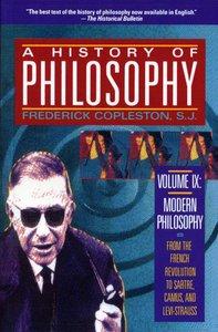 History of Philosophy (Vol 9)