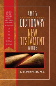 Amgs Comprehensive Dictionary of New Testament Words