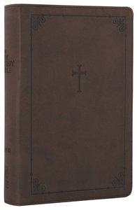 NIV Teen Study Bible Compact Chocolate Cross (Black Letter Edition)