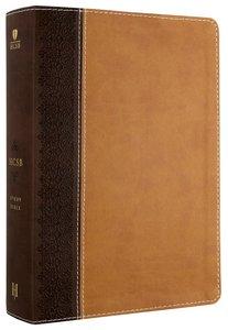 HCSB Study Bible Brown/Tan