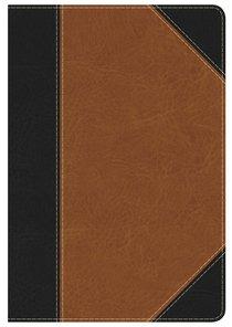 KJV Study Bible Personal Size Black/Tan