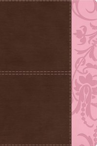 HCSB Study Bible For Women Brown/Pink
