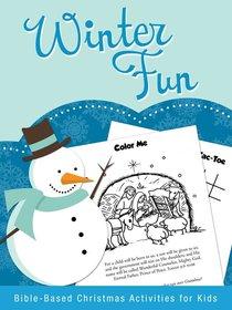 Christmas Activity Book: Winter Fun
