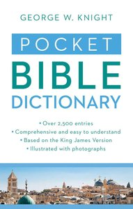 Value Books: Pocket Bible Dictionary
