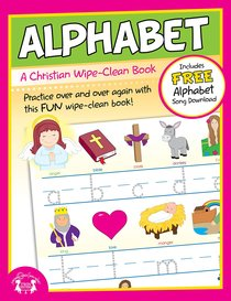 Wipe Clean Book: Alphabet (Age 4+)