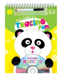 Sing and Learn: Bible Tracing Fun Wipe-Clean Workbook & CD W/Marker