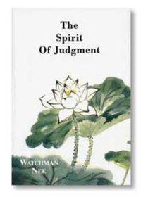 The Spirit of Judgement