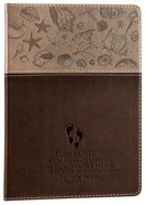 Journal: Footprints Leatherlux