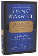 Maxwell 2-In-1:25 Ways To Win With People + 360 Degree Leader
