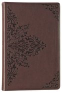 ESV Value Thinline Bible Chestnut Filigree Design
