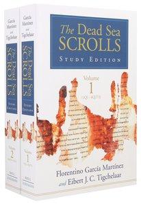 Dead Sea Scrolls (2 Volume Set) (Study Edition)
