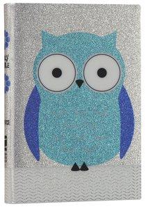 NIV Glitter Bible Blue Owl (Red Letter Edition)