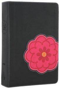 NIV Teen Study Bible Black Licorice Hot Pink