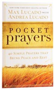 Pocket Prayers (Pocket Prayers Series)