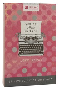 Love Notes (Pocket Inspirations Series)