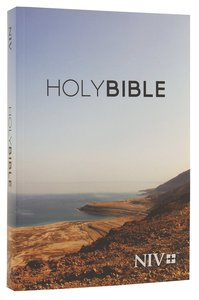 NIV Popular Paperback Bible Dead Sea