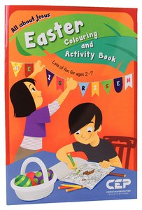 All About Jesus Easter Colouring and Activity Book
