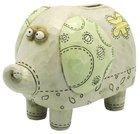 Noahs Ark Coin Bank: Elephant