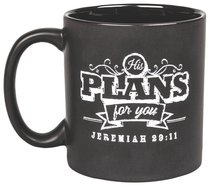 Chalkboard Ceramic Mug: His Plans