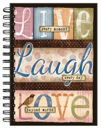 Spiral Journal: Live Laugh Love