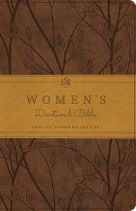 ESV Womens Devotional Bible Trutone Brown Birch Design (Black Letter Edition)