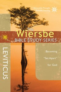 Leviticus (Wiersbe Bible Study Series)