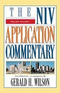 Psalms Volume 1 (Niv Application Commentary Series)