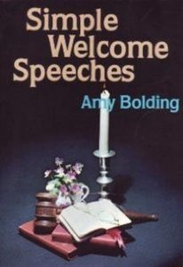 Simple Welcome Speeches