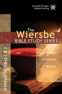 1 & 2 Thessalonians (Wiersbe Bible Study Series)
