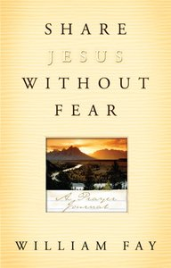 Share Jesus Without Fear (Journal)