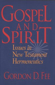 Gospel and Spirit