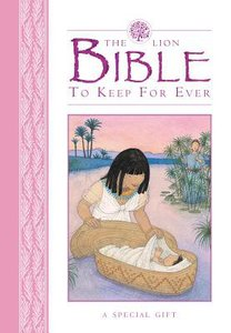 The Lion Bible to Keep For Ever (Pink)