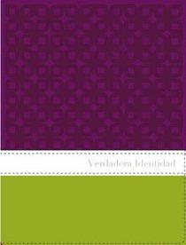 Nvi Verdadera Identidad Italian Duo-Tone Purple/Green / True Identity Bible For Women the