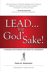 Lead... For Gods Sake! (Large Print)