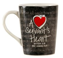Mug: A Servants Heart Ceramic
