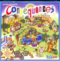 Consequences Board Game (Ages 3+, 2-4 Players)
