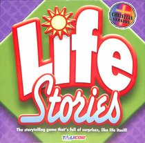 Life Stories Board Game (Ages 6+, 2-8 Players)