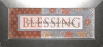 Keepsake Mdf Framed Art: Blessing