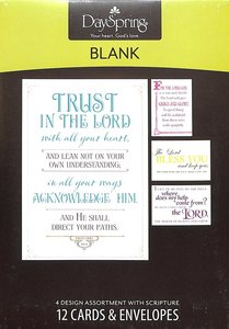 Boxed Cards Blank: Gods Word