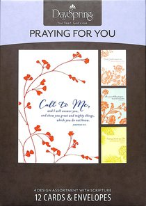 Boxed Cards Praying For You: His Assurance