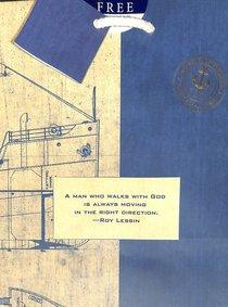 Gift Bag Medium: Noble Blueprint (Incl Tissue Paper & Gift Tag)