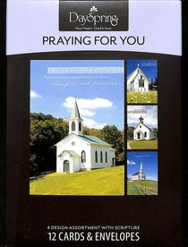 Boxed Cards Praying For You: Country Churches