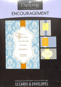 Boxed Cards Encouragement: Scriptural Patterns